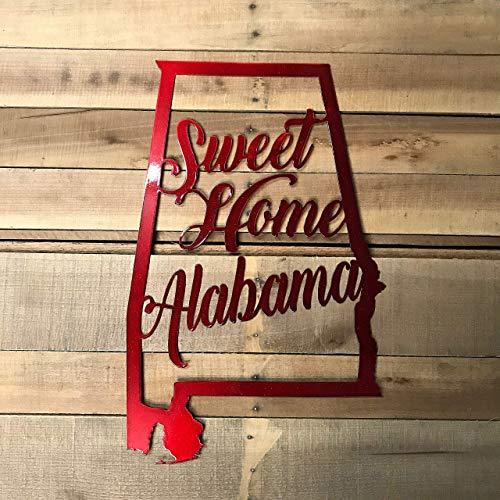 GREAT GIFT Sweet Home Alabama Door Hanger State Of Alabama
