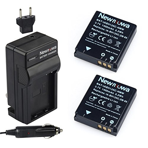 Newmowa IA-BH125C Replacement Battery  and Charger kit for