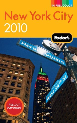 Fodor's New York City 2010 (Full-color Travel Guide)