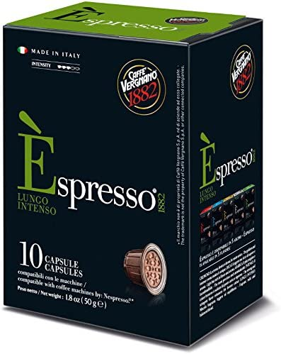 Caffe Vergnano Lungo Nespresso Pods