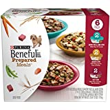 Purina Beneful Prepared Meals Variety Pack Wet Dog Food - 10oz. Tub, Pack of 6
