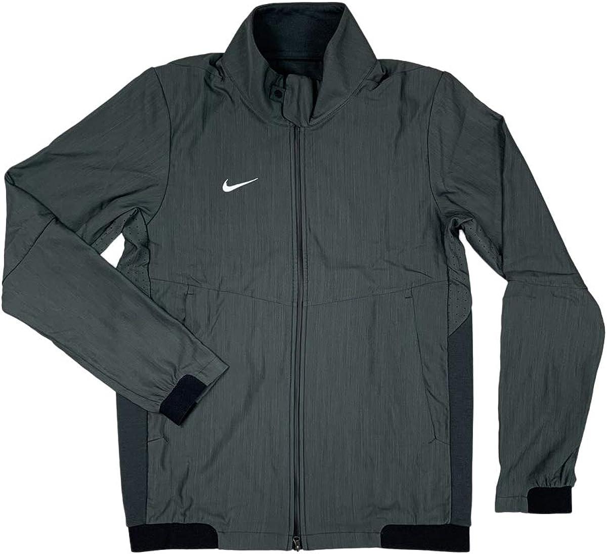 oficial rendimiento confiable envio GRATIS a todo el mundo Amazon.com: Nike Mens Dri-Fit Light Weight Travel Jacket Grey ...