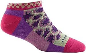 Darn Tough Merino Wool Waterlily No Show Light Sock - Women's Berry Small DISCONTINUED