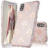 iPhone X Case,DOUJIAZ Shiny Rose Gold Metallic Peach - Best Reviews Guide