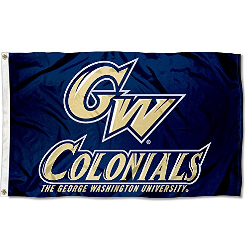 George Washington Colonials GW University Large College Flag