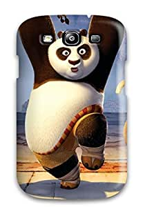 Premium Kung Fu Tigress Panda Monkey Back Cover Snap On Case For Galaxy S3
