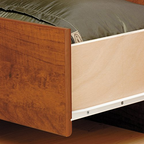 Prepac CBQ-6200-3K Queen Sonoma Platform Storage Bed with 6 Drawers