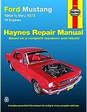 Ford Mustang, Mach 1, GT, Shelby, & Boss V-8 (64-73) Haynes Repair Manual