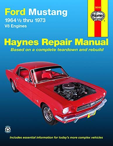 2006 Mustang Mach 1 - Ford Mustang, Mach 1, GT, Shelby, & Boss V-8 (64-73) Haynes Repair Manual