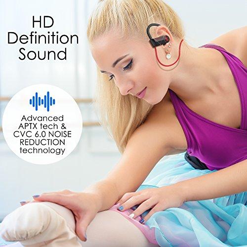 Bluetooth Headphones Wireless - Mens Womens Running Headphones - Best Sports Wireless Earbuds Earphones - IPx7 Wireless In-ear Headphones - Sport Bluetooth Headphones for Women Men (up to 10 Hours) - Image 6