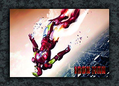 Tamatina Superheroes Poster - Iron Man - Fan Art - Avengers