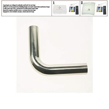 45 mm O/D 304 Acero inoxidable Soldadura sanitaria Tubo de ...