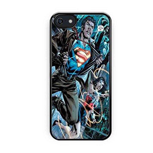 Cooliphone4Cases.com-2558-Batman And Wonderwoman Superhero iPhone 5 Case, iPhone 5s Case-B01LXYO39G-T Shirt Design