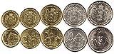 Serbia 5 Coins Set 2007 UNC Dinar, DINARA