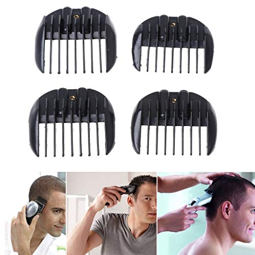 Milue Limit Comb Hair Clipper Guide Guard Attachment 4 Sizes Haircutting Replacement