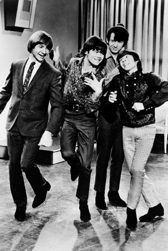 The Monkees Davy Jones Peter Tork Micky Dolenz Mike Nesmith Dancing Poster