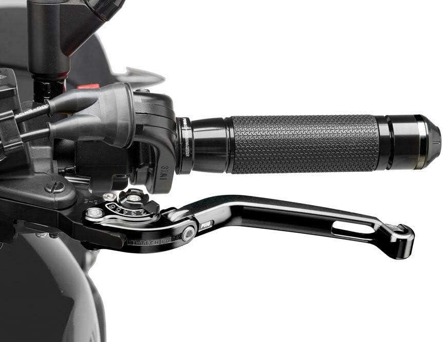 2014- klappbar K10 schwar Set Puig 160NN1022 Brems-Kupplungshebel S1000R