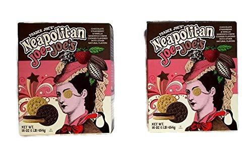 (Trader Joe's Neapolitan Joe-Joe's Sandwich Creme Cookies 2 Pack)