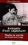 Image de Autopsie d'une imposture : L'affaire Ranucci