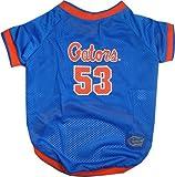 NCAA Dog Jersey, X-Small, University of Florida Gators