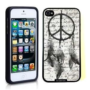 Iphone 5 5S Case Thinshell Case Protective Iphone 5 5S Case Shawnex Dreamcatcher On Vintage Paper WANGJING JINDA