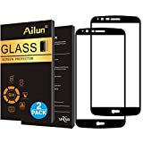 Ailun Screen Protector Compatible LG Stylo 3 2Pack 2.5D Edge Ultra Clear Anti Scratch Case Friendly Full Cover Tempered Glass Compatible LG Stylo 3 Stylus 3 Only Not for LG Stylus 2 Black