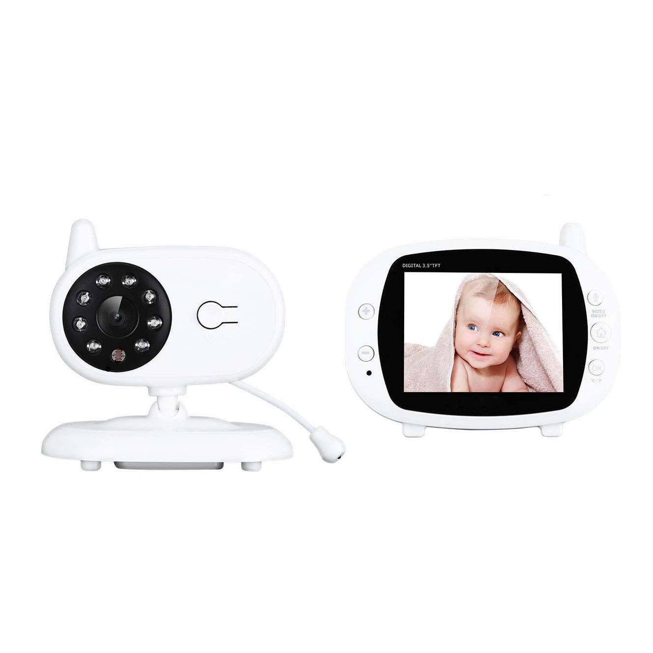 【爆売りセール開催中!】 HD 色 画面 赤ちゃん B07R41S3NC モニター 温度 スマート ホーム セキュリティ 検出 カメラ ビルトイン 音楽 簡単 に インストール と 夜 ビジョン、 音声 インターホン、 温度 検出 ブザー 関数 B07R41S3NC, スズカグン:d48cd969 --- dou13magadan.ru
