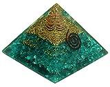 Harmonize Apatite Pyramid Orgone Chakra Balancing Therapy Reiki Healing Crystal Energy Generator