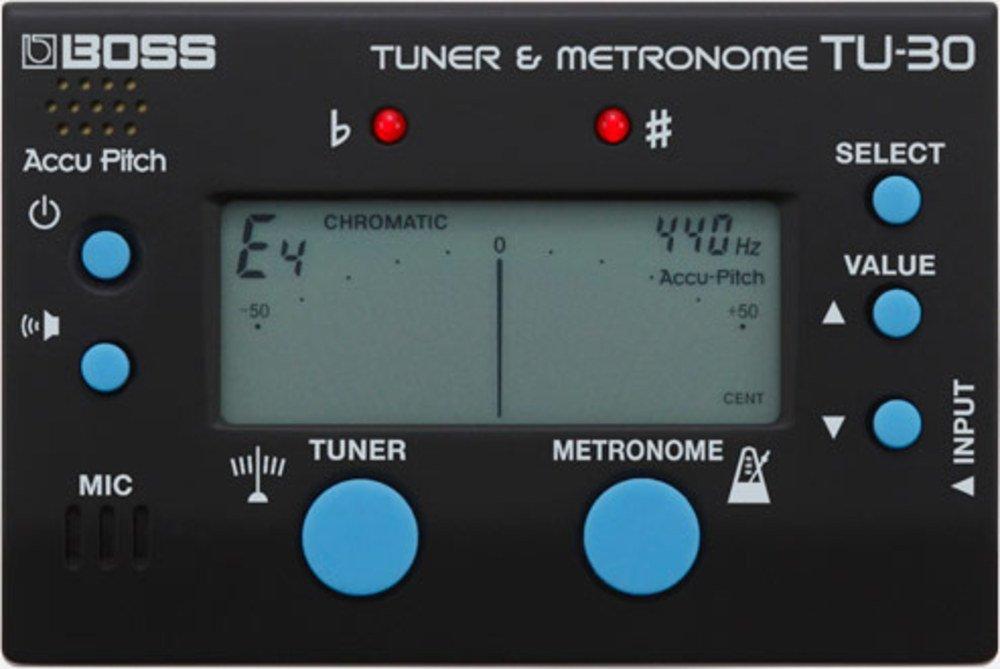 BOSS TU30 Tuner e Metronome TU-30