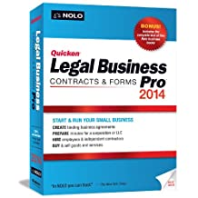 NOLO QUICKEN LEGAL BUSINESS PRO 2014