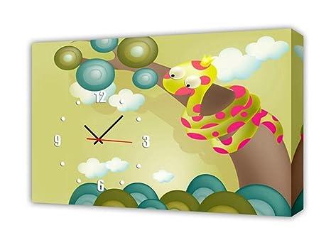 Orologi Da Parete In Tela : Home uk modern style tela pittura soggiorno astratto faccia