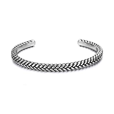 943857062cc Image Unavailable. Image not available for. Color: Carleen High Polished 925  Sterling Silver Open ...