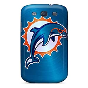 Galaxy S3 Case Cover Skin : Premium High Quality Miami Dolphins Case