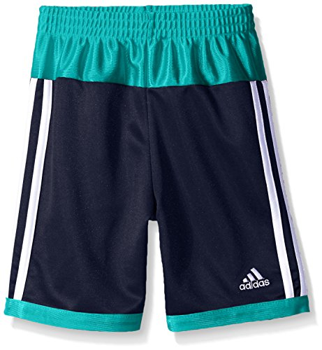 adidas Little Boys' Athletic Short, Dark Indigo Base, - Indigo Adidas Shorts
