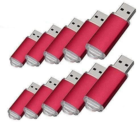 10pcs 4 G USB flash drive usb 2.0 Memory Stick Pen Drive de disco de memoria (4.0 GB)