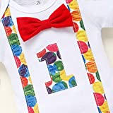 Baby Boys 1st Birthday Cake Smash Outfit Hungry