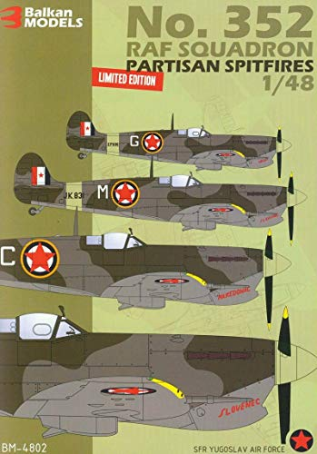 Balkan Models BM-4802 No.352 RAF Squadron Partisan for sale  Delivered anywhere in USA