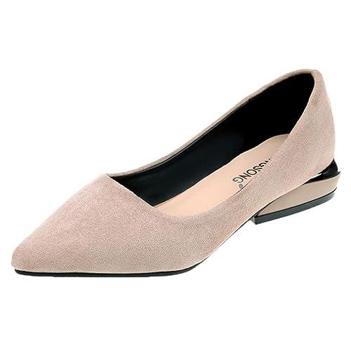 a445e218d784d Amazon.com | Fheaven (TM) Women Casual Shoes Pointed Toe Flat Low ...
