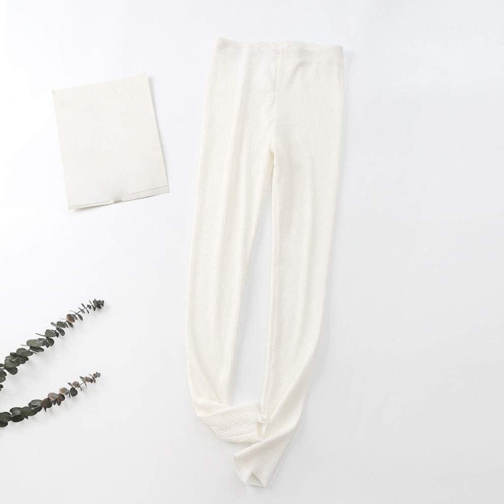 KaloryWee Womens Cotton Knit Soft Jogger Pajama Bottoms Sleep Pant