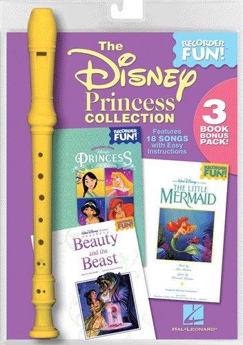 (The Disney Princess Collection (Recorder) - Recorder Fun! 3-Book Bonus Pack)