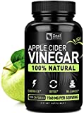 100% Natural Raw Apple Cider Vinegar Pills from The Mother (1560mg   120 Capsules) Unfiltered Apple Cider Vinegar with Cayenne Pepper for Fast Weight Loss Cleanse Appetite Suppressant, Bloating Relief