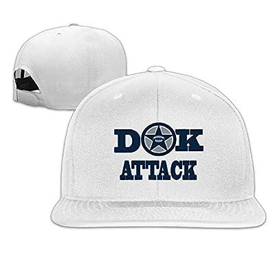 Karoda DAK ATTACK Flat Brim Baseball Caps Hip Hop Hat
