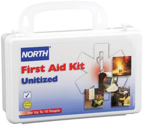 10 Unit First Aid Kit - North by Honeywell 019708-0005L 10 Unit, Standard Assortment Kit, Plastic
