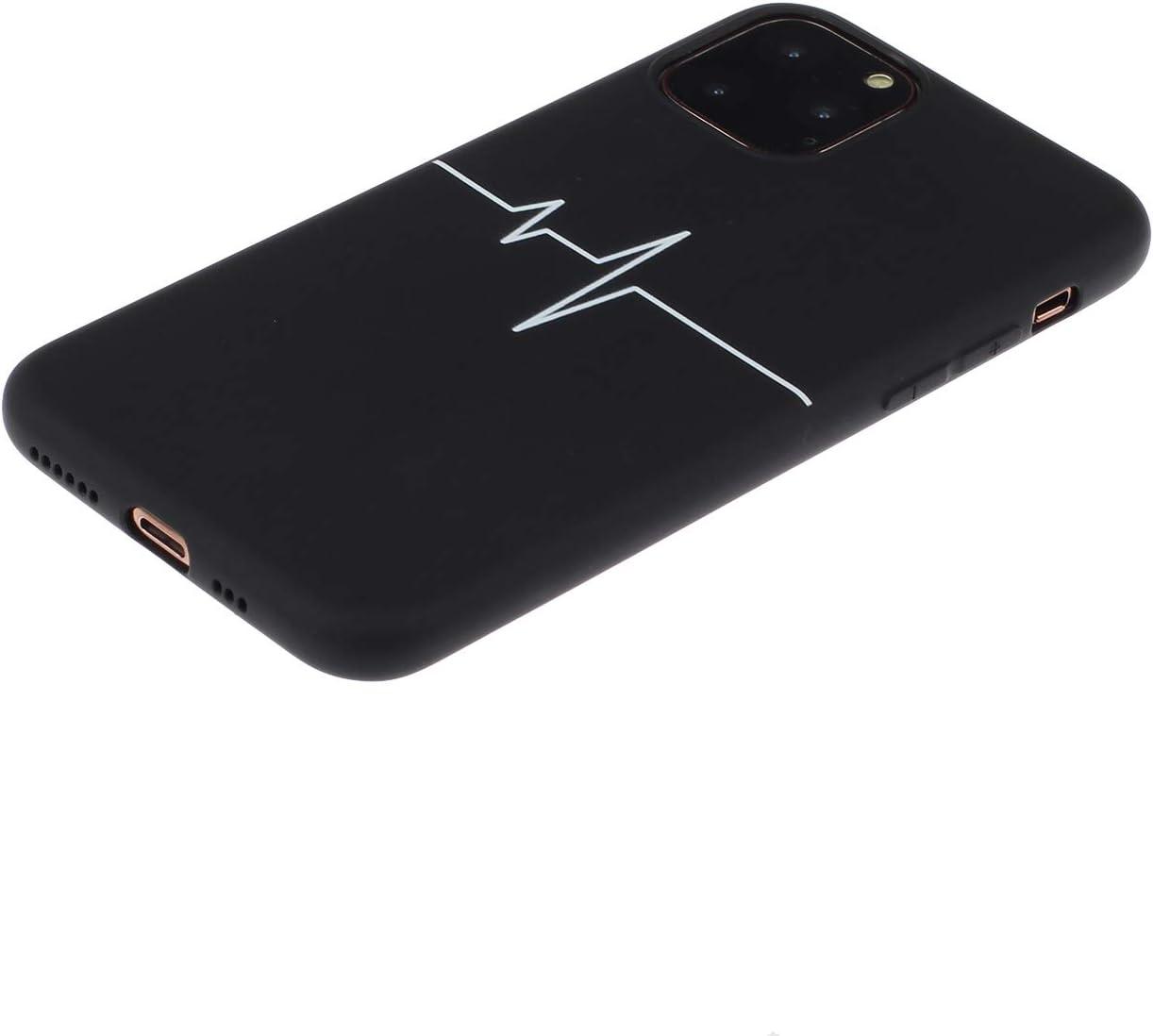 MoreChioce kompatibel mit iPhone 11 Pro Max H/ülle,kompatibel mit iPhone 11 Pro Max Handyh/ülle Silikon Einfarbig,Durchsichtig Crystal Case Defender Bumper,Sch/ön Tiefes Blau Silikonh/ülle Sto/ßfest Etui