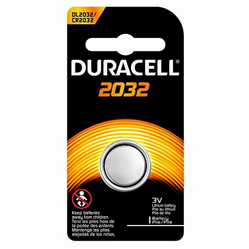 Duracell Duralock DL 2032 225mAh 3V Lithium Coin Cell Battery - 1 Piece Retail Card