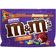 M&M'S Dark Chocolate Candy Sharing Size 10.1-Ounce Bag