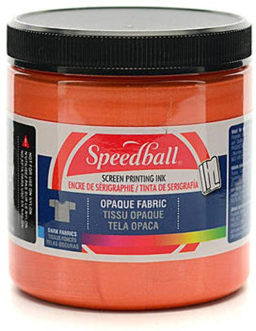 Speedball Opaque Fabric Screen Printing Inks (Sherbet) 1 pcs sku# 1842159MA