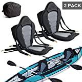 2 Pack of Kayak Seat Deluxe Padded Canoe...
