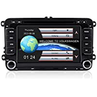 7 2 Din Car DVD for Volkswagen/VW Golf 4 Golf 5 6 Touran Passat B6 Sharan Jetta Caddy Tran With Radio DVD iPod Bluetooth
