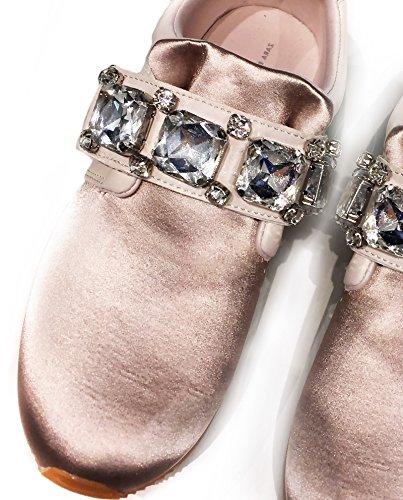 Zara Donna Sneakers raso perline 6700/201